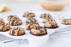 Gluten-Free Samoas Cookies
